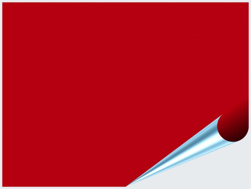 Fliesenaufkleber Rot matt 15x20 cm – Bild 2