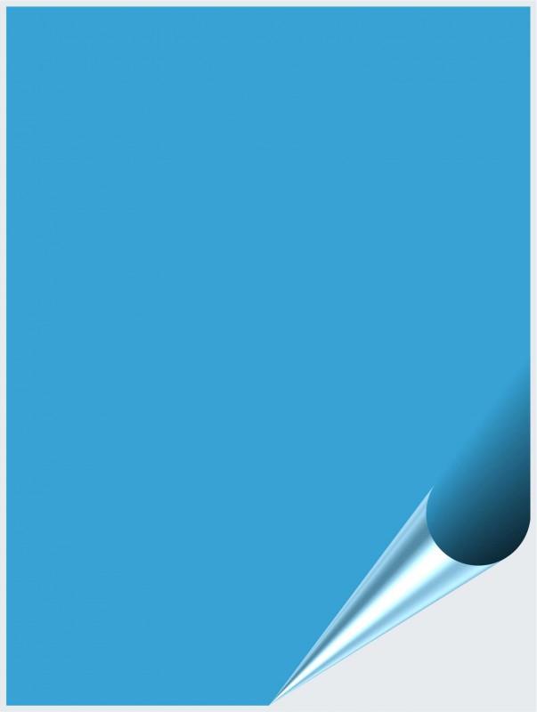 Fliesenaufkleber Lichtblau matt 15x20 cm – Bild 1