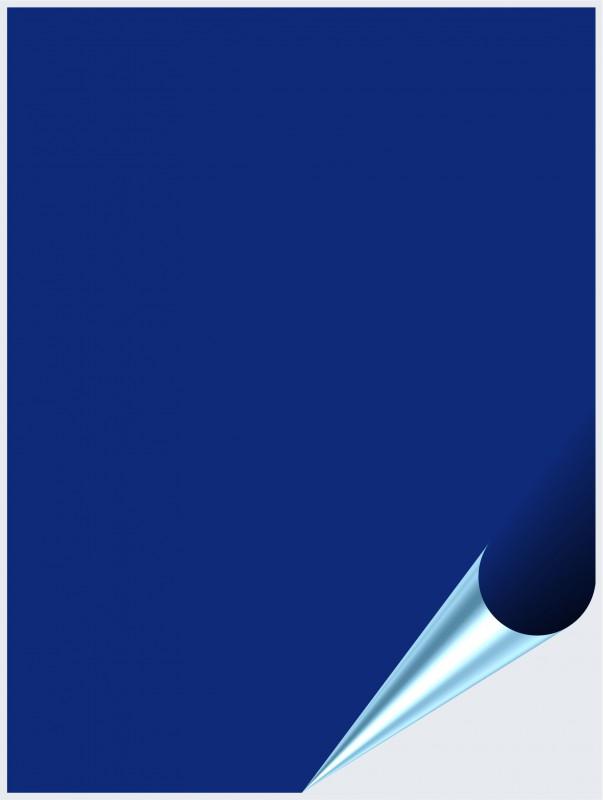 Fliesenaufkleber Königsblau matt 15x20 cm – Bild 1