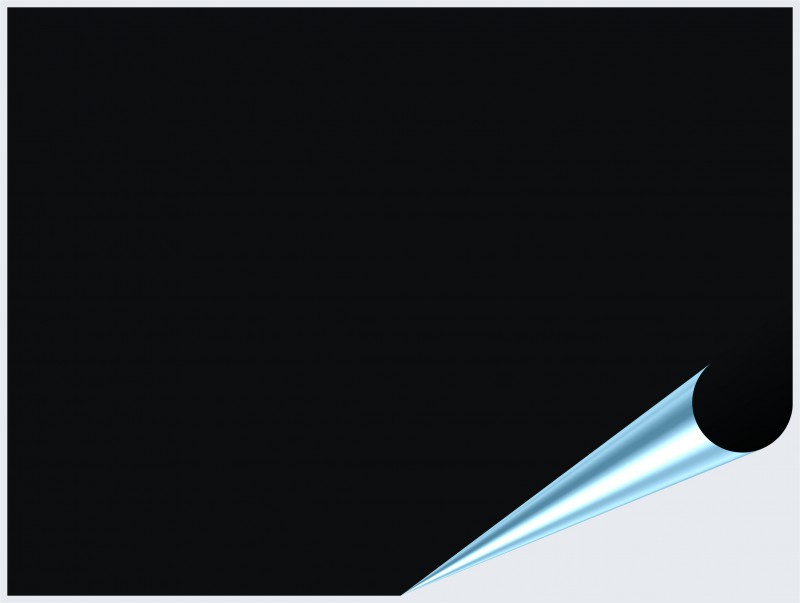 Fliesenaufkleber Schwarz matt 15x20 cm – Bild 2