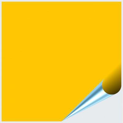 Fliesenaufkleber Gelb matt 20x20 cm – Bild 1
