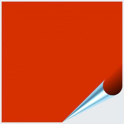 Fliesenaufkleber Orangenrot matt 20x20 cm – Bild 1
