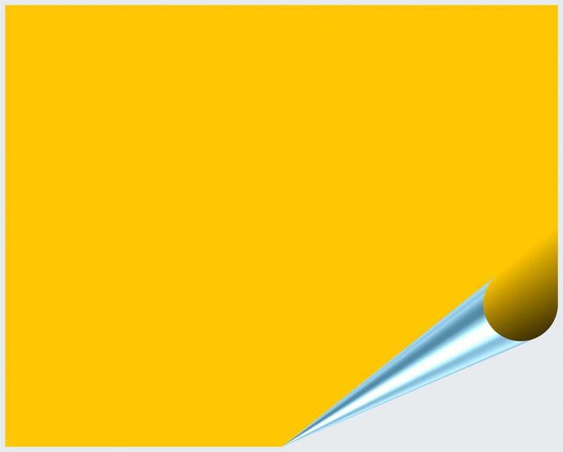 Fliesenaufkleber Gelb matt 20x25 cm – Bild 2