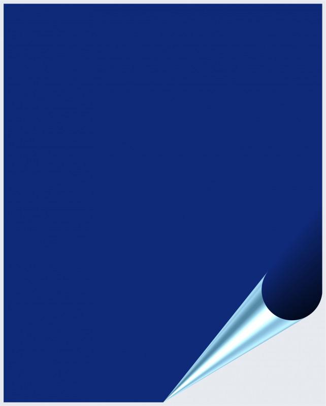 Fliesenaufkleber Königsblau matt 20x25 cm – Bild 1