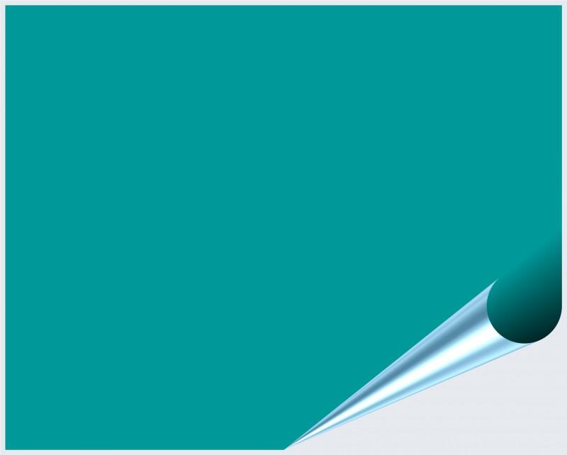 Fliesenaufkleber Türkis matt 20x25 cm – Bild 2