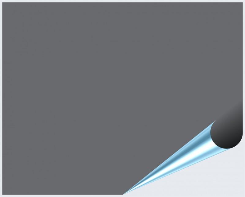 Fliesenaufkleber Silbergrau matt 20x25 cm – Bild 2