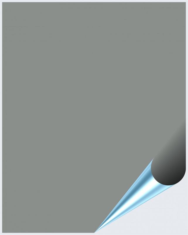 Fliesenaufkleber Mittelgrau matt 20x25 cm – Bild 1