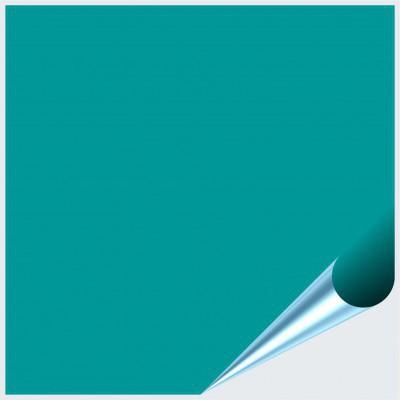 Fliesenaufkleber Türkis glänzend 15x15 cm