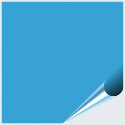 Fliesenaufkleber Lichtblau glänzend 20x20 cm