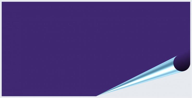 Fliesenaufkleber Purple glänzend 10x20 cm – Bild 2