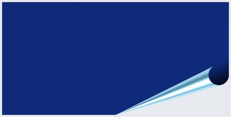 Fliesenaufkleber Königsblau glänzend 10x20 cm – Bild 2