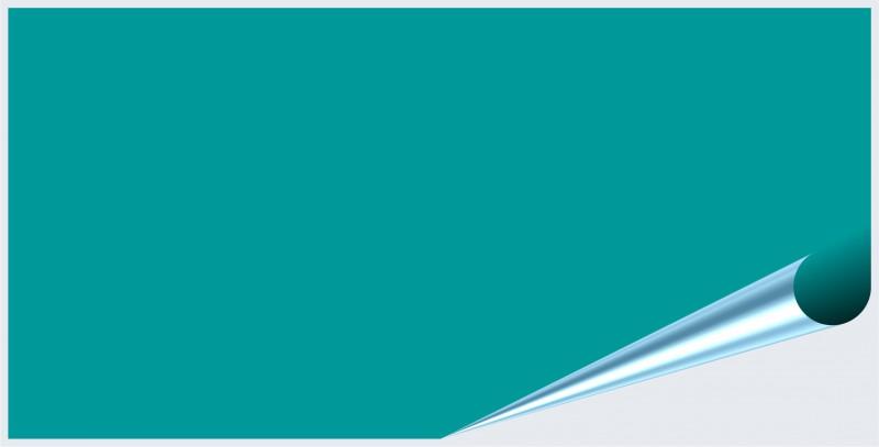 Fliesenaufkleber Türkis glänzend 10x20 cm – Bild 2