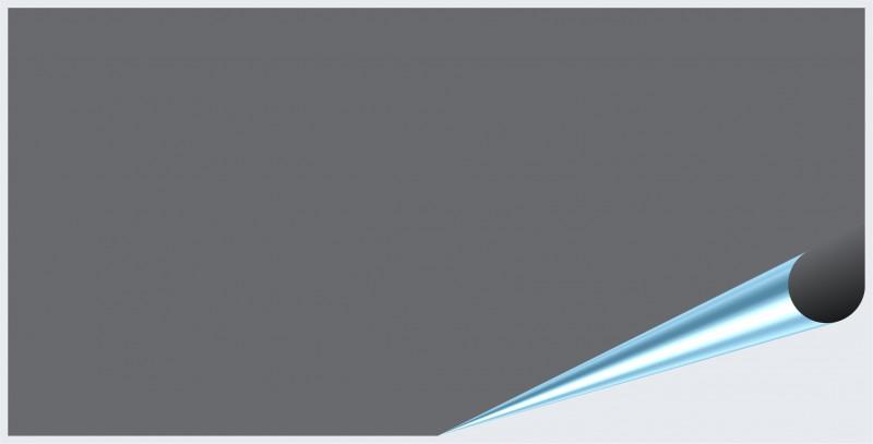 Fliesenaufkleber Silbergrau glänzend 10x20 cm – Bild 2