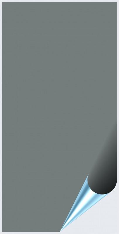 Fliesenaufkleber Grau glänzend 10x20 cm – Bild 1