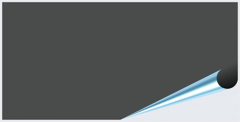 Fliesenaufkleber Dunkelgrau glänzend 10x20 cm – Bild 2