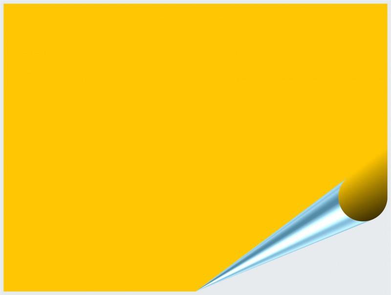 Fliesenaufkleber Gelb glänzend 15x20 cm – Bild 2