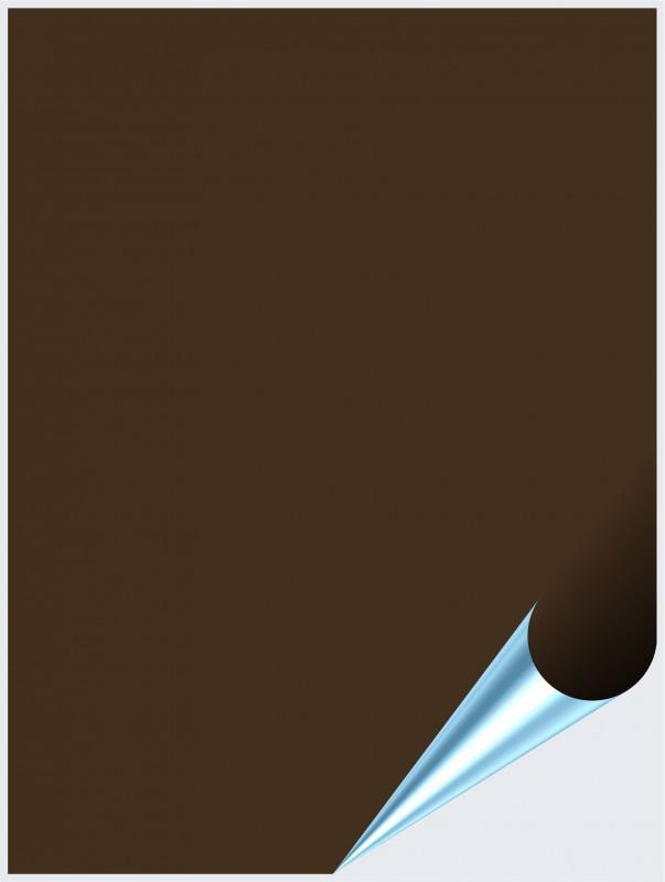 Fliesenaufkleber Braun glänzend 15x20 cm – Bild 1