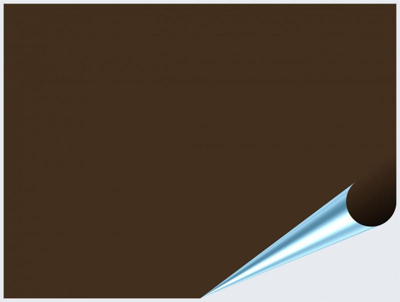 Fliesenaufkleber Braun glänzend 15x20 cm – Bild 2