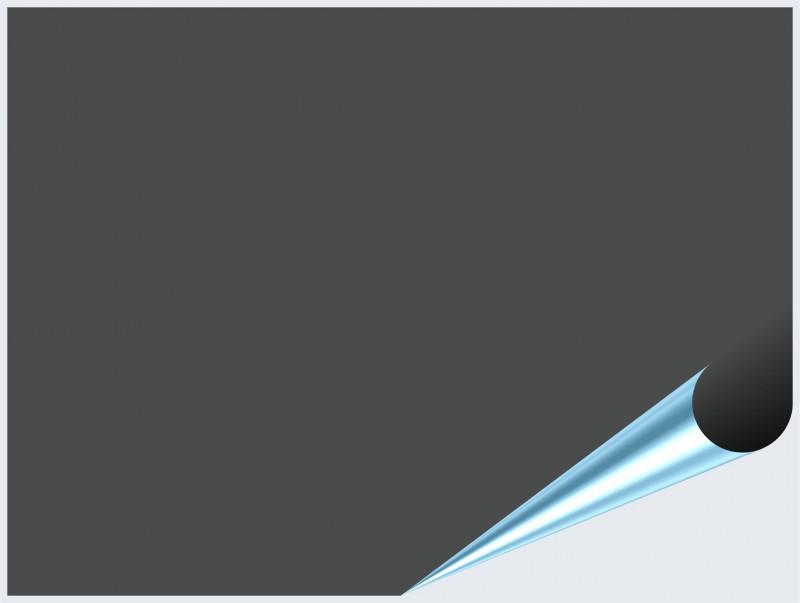 Fliesenaufkleber Dunkelgrau glänzend 15x20 cm – Bild 2