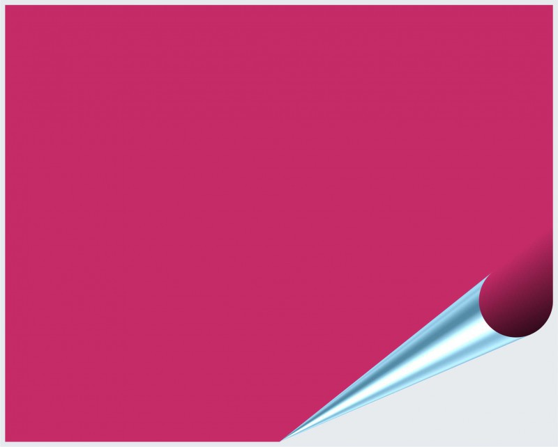 Fliesenaufkleber Pink glänzend 20x25 cm – Bild 2