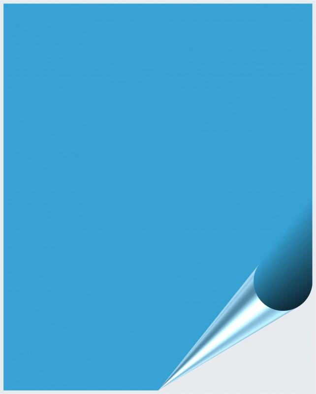 Fliesenaufkleber Lichtblau glänzend 20x25 cm – Bild 1