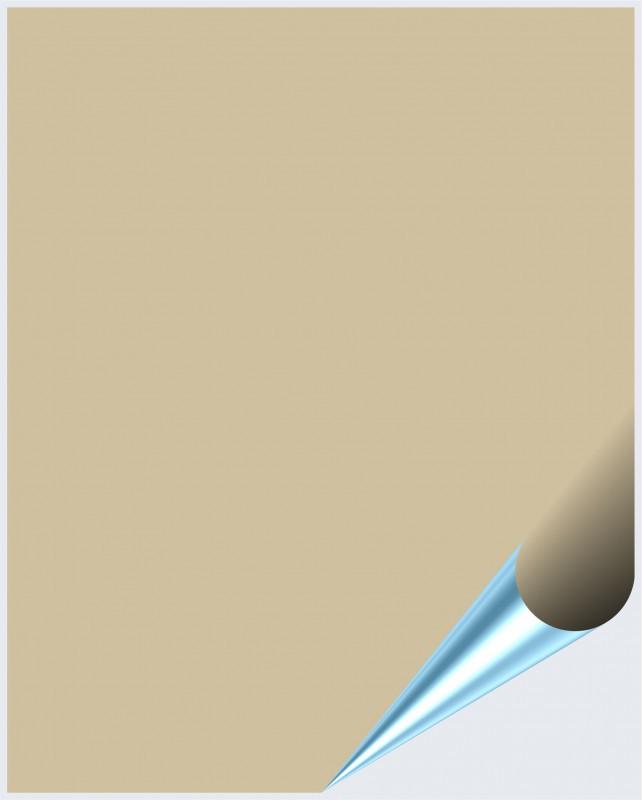 Fliesenaufkleber Beige glänzend 20x25 cm – Bild 1