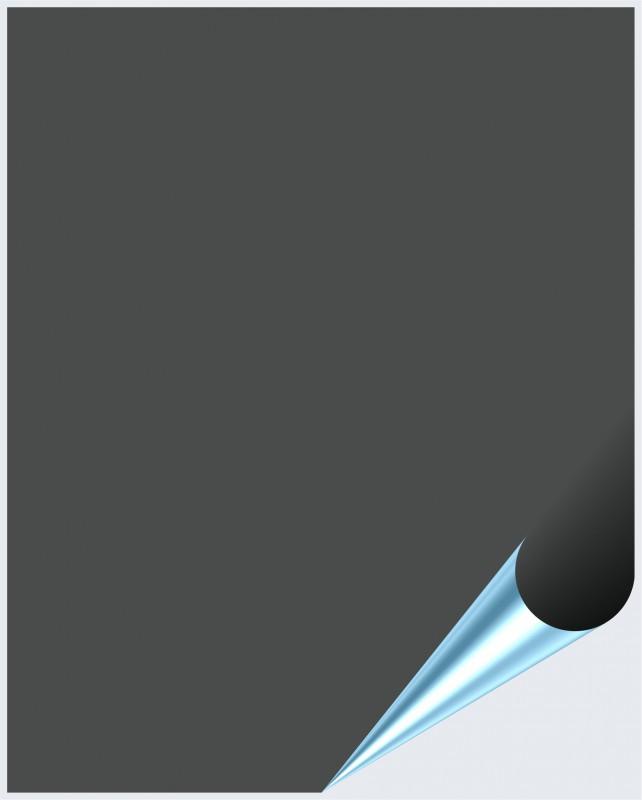 Fliesenaufkleber Dunkelgrau glänzend 20x25 cm – Bild 1