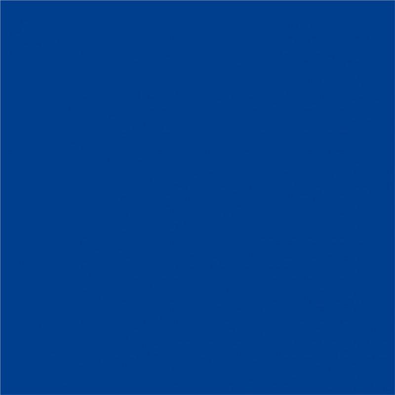 Dekofolie Verkehrsblau matt – Bild 1