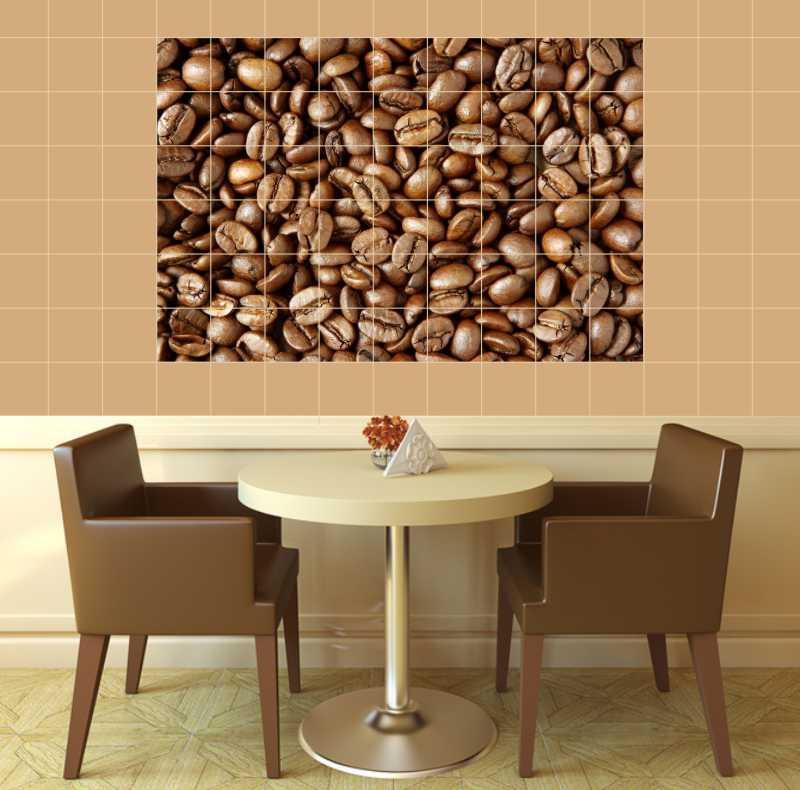 Fliesenbild Kaffeebohnen – Bild 2
