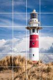 Fliesenbild Lighthouse in Nieuwpoort 001
