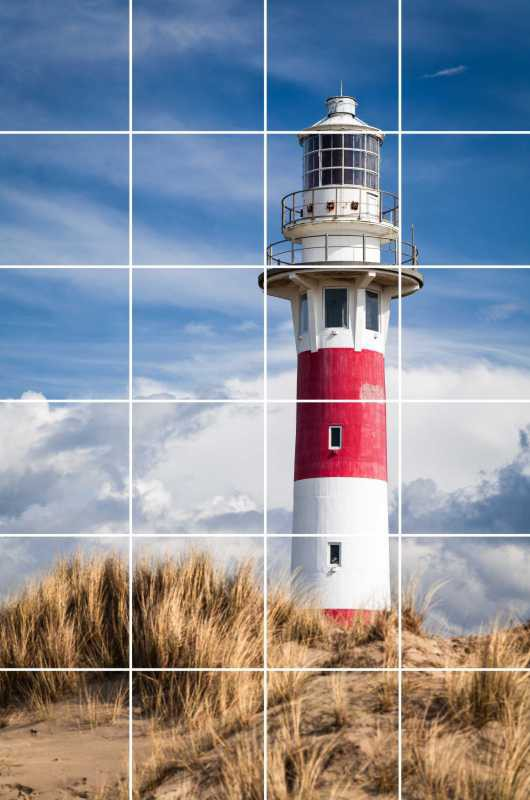 Fliesenbild Lighthouse in Nieuwpoort – Bild 1
