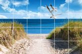 Fliesenbild Ostseeküste 001