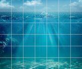 Fliesenbild Ozean 001