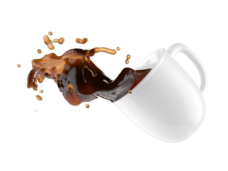 Fliesenbild Kaffeegestöber – Bild 3