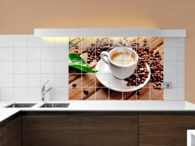 Fliesenbild Kaffeepause – Bild 2
