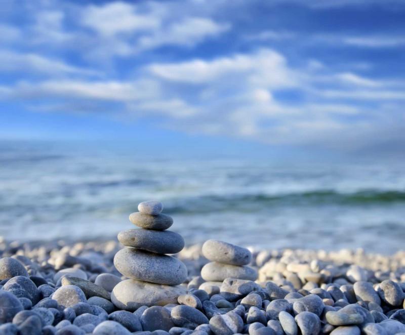 Fliesenbild Zen Stones – Bild 3