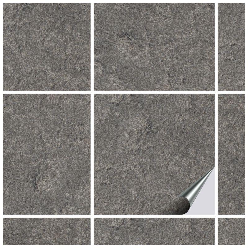 Fliesenaufkleber Dekor Stone No.2 15x15 cm – Bild 1