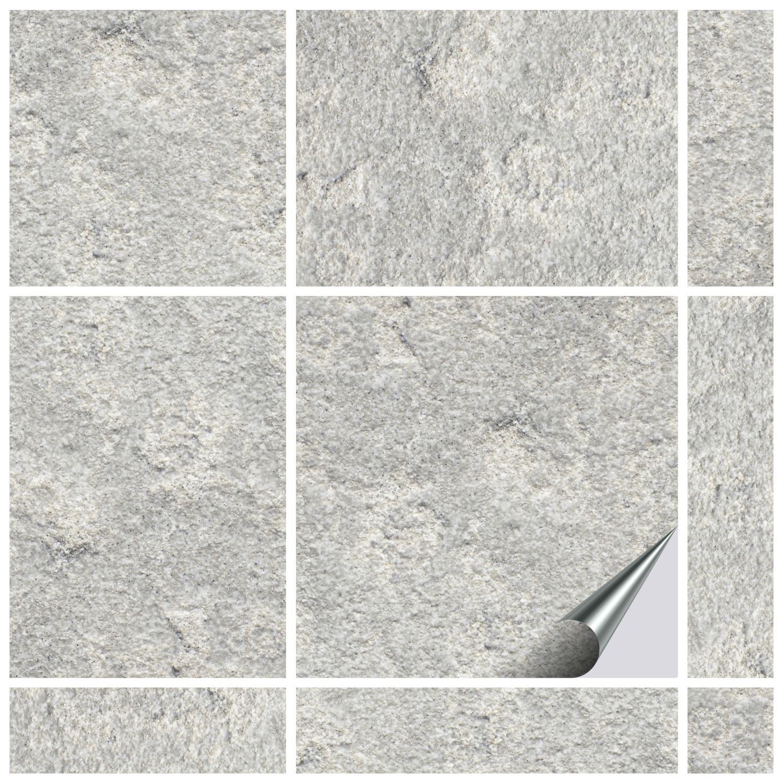 Fliesenaufkleber Dekor Stone No 4 15x15 Cm
