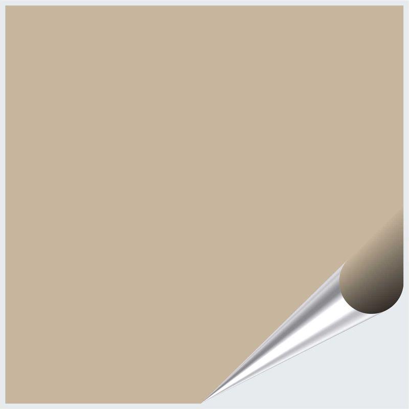 Fliesenaufkleber Dunkelbeige matt 10x10 cm – Bild 1