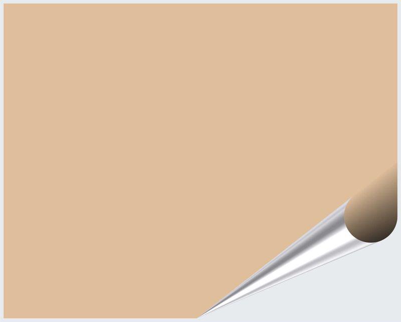 Fliesenaufkleber Safran matt 20x25 cm – Bild 2