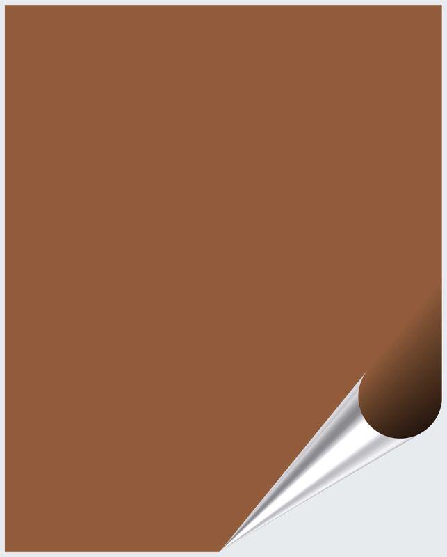 Fliesenaufkleber Lehmbraun matt 20x25 cm – Bild 1