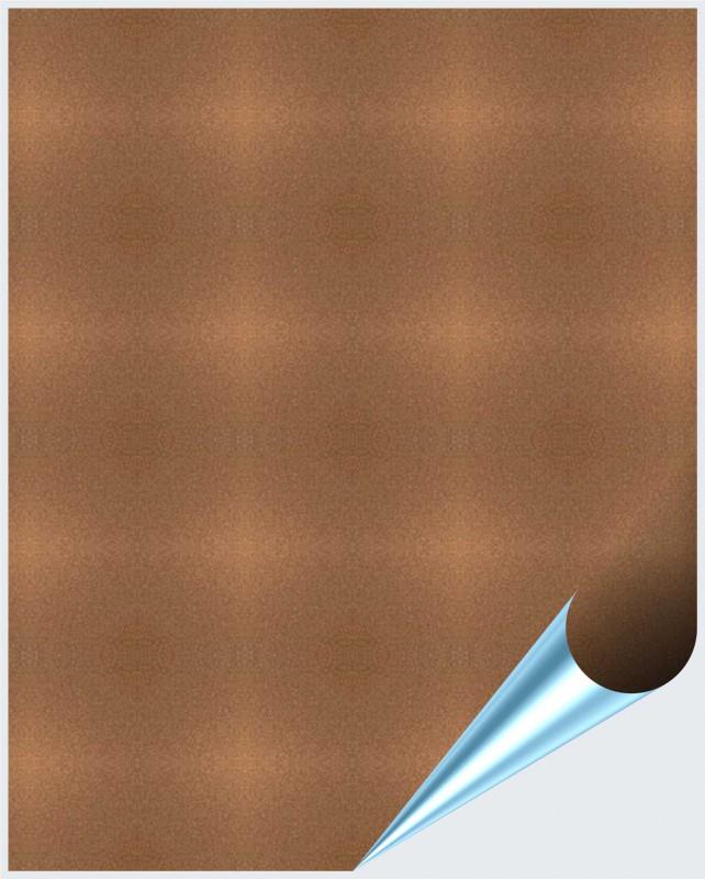 Fliesenaufkleber bronze metallic 20x25 cm for Fliesenaufkleber 20x25