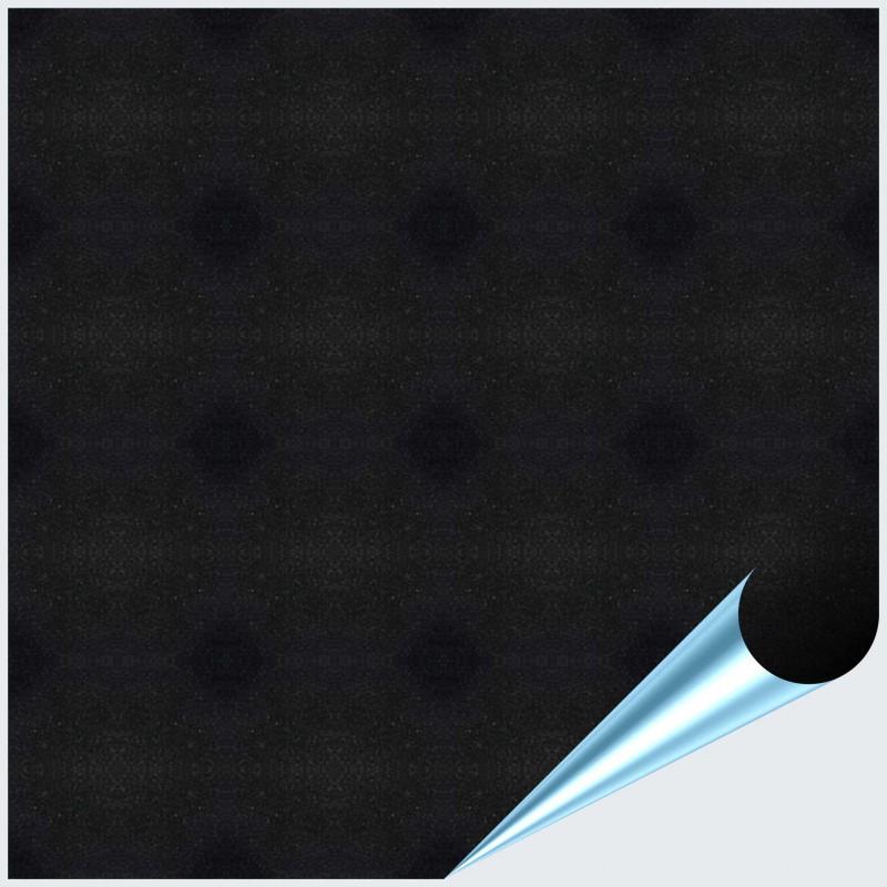 Fliesenaufkleber schwarz metallic 15x15 cm