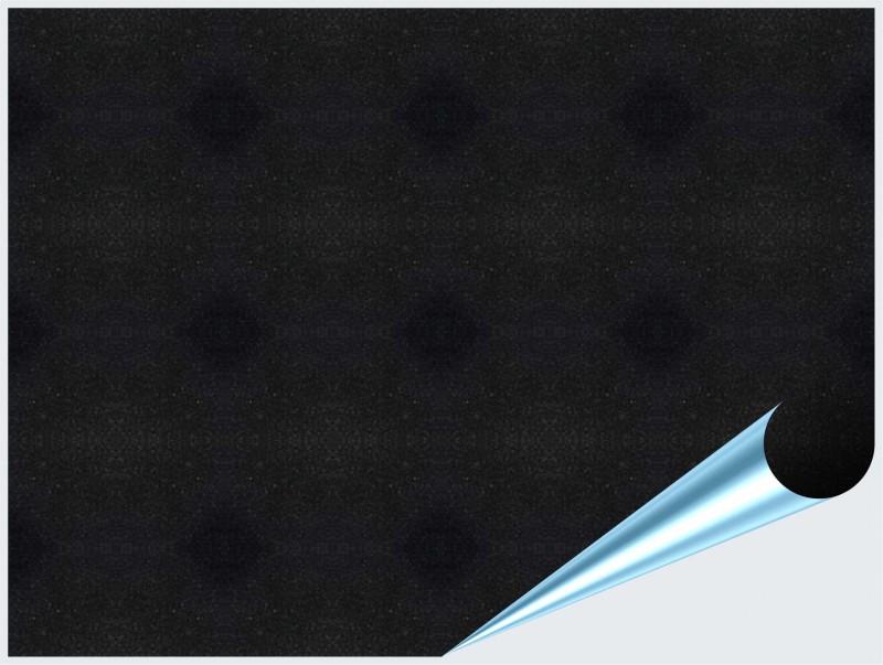 Fliesenaufkleber schwarz metallic 15x20 cm for Fliesenaufkleber schwarz