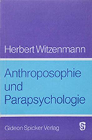 Anthroposophie und Parapsychologie