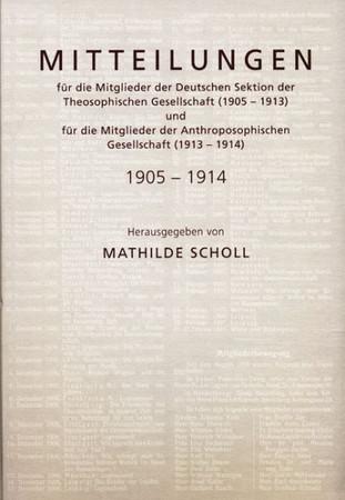 Scholl-Mitteilungen»