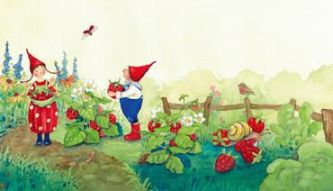 Pippa und Pelle im Garten – Bild 3