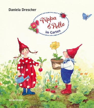 Pippa und Pelle im Garten – Bild 1
