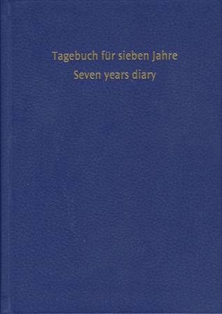 Tagebuch für sieben Jahre (dunkelblau)