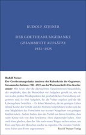 GA 36 Der Goetheanumgedanke inmitten der Kulturkrisis der Gegenwart